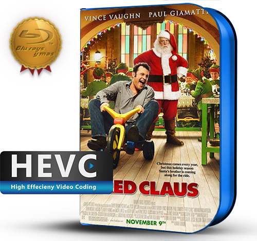 Fred Claus (2007) 1080P HEVC-8Bits BDRip Latino/Ingles(Subt.Esp)(Familiar, Comedia)