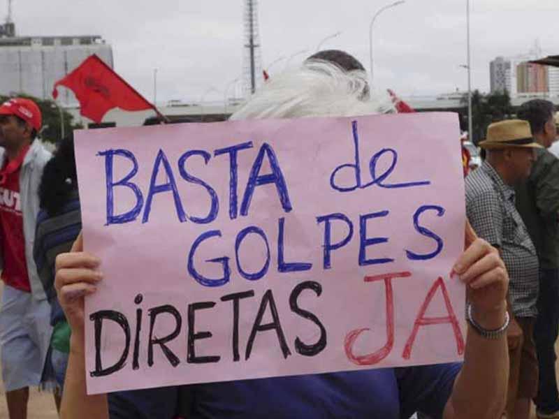 Marcha de Trabajadores ocupará Brasilia para exigir ¡Fuera Temer!