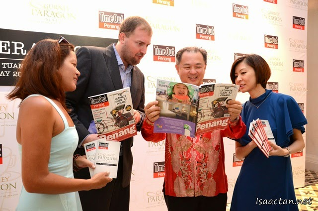 Time Out Penang Food & Beverage Guide Launch @ Gurney Paragon Mall