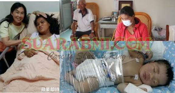 Bobot Bayi TKW Taiwan Yang Hamil Tak Ketahuan 3,2 kg - Kini Sedang Menunggu Proses Dipulangkan