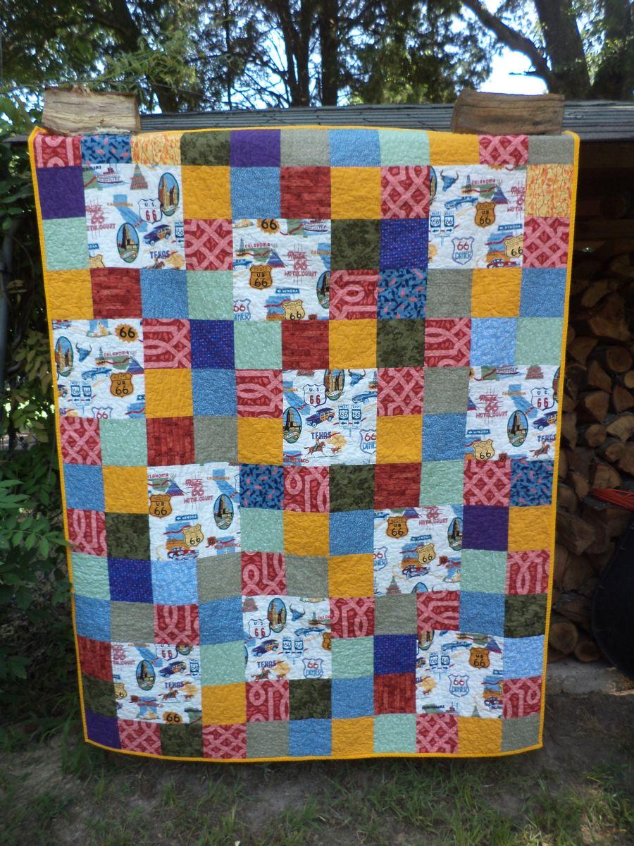 Quilt Routes: Journal Quilts 2016