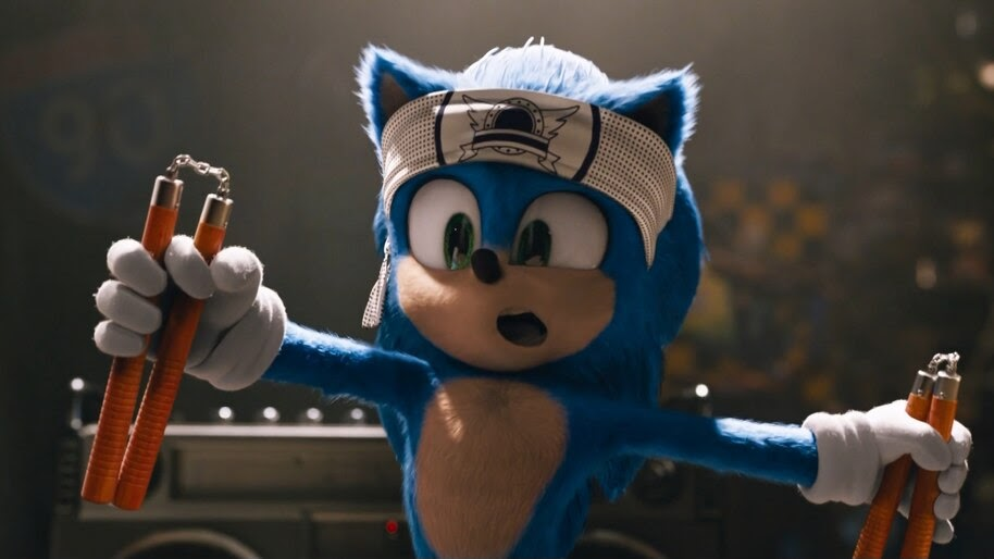 Sonic The Hedgehog Nunchucks 2020 Movie 4k Wallpaper 7 262