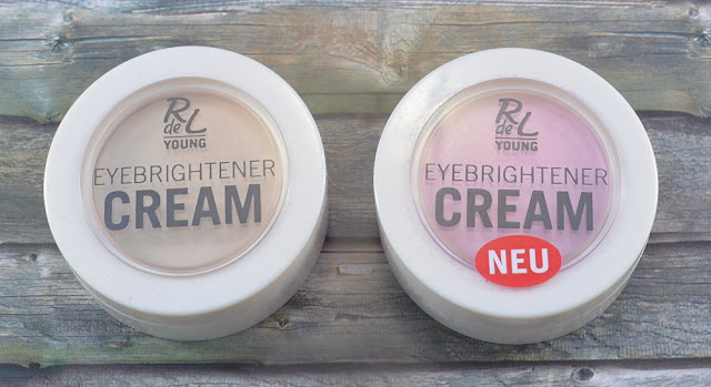 R de L Young eyebrightener creams 01 famous gloss 02 shiny rose