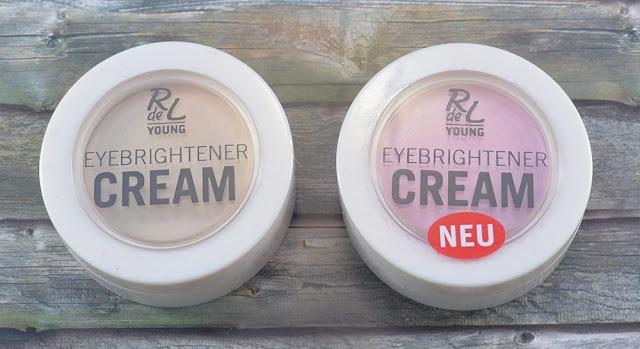 R de L Young eyebrightener creams 01 famous gloss 02 shiny rose
