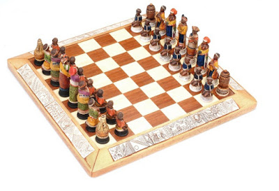 african chess sets arts & curios