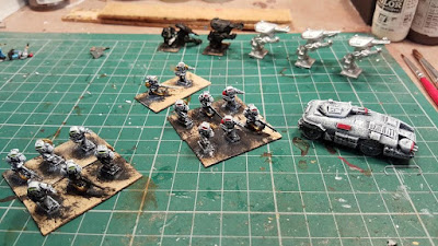 Pendrakens old sci-fi Marines 1