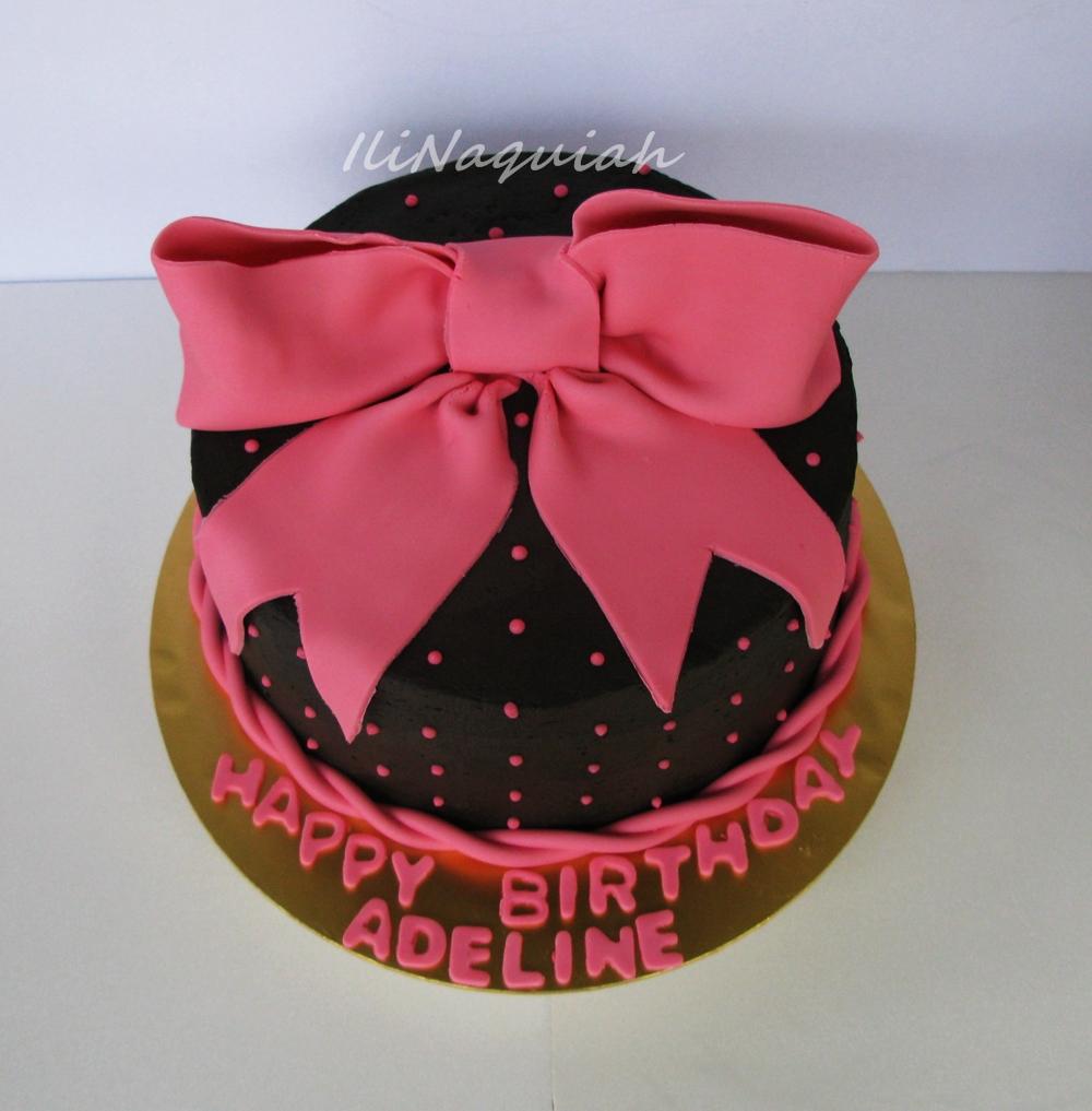 Sugar Amp Vanilla Bakery Pink Birthday Cake