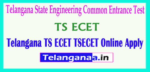 Telangana TS ECET Online Apply TSECET 2018 Online Apply