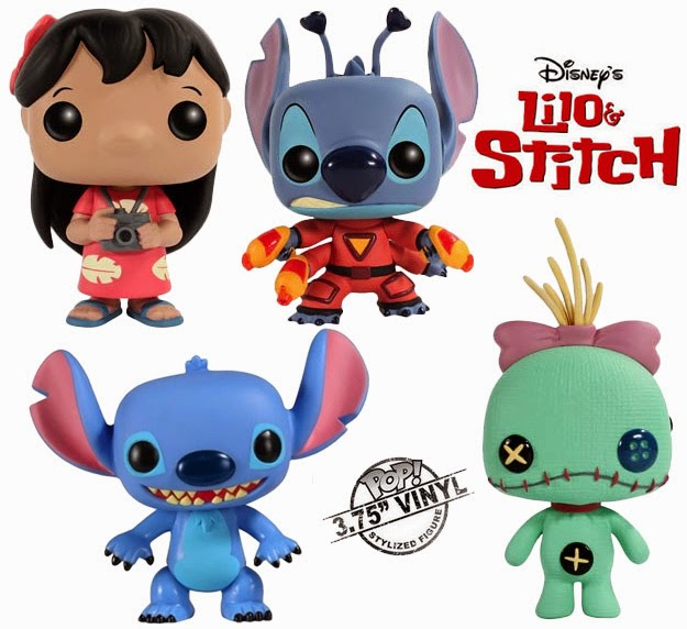 Bonecos Pop Funko Lilo & Stitch