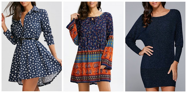 My Rosegal Wishlist: Long Sleeve Mini Dress