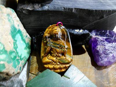 Phật bản mệng Đại Thế Chí Bồ Tát đá mắt hổ