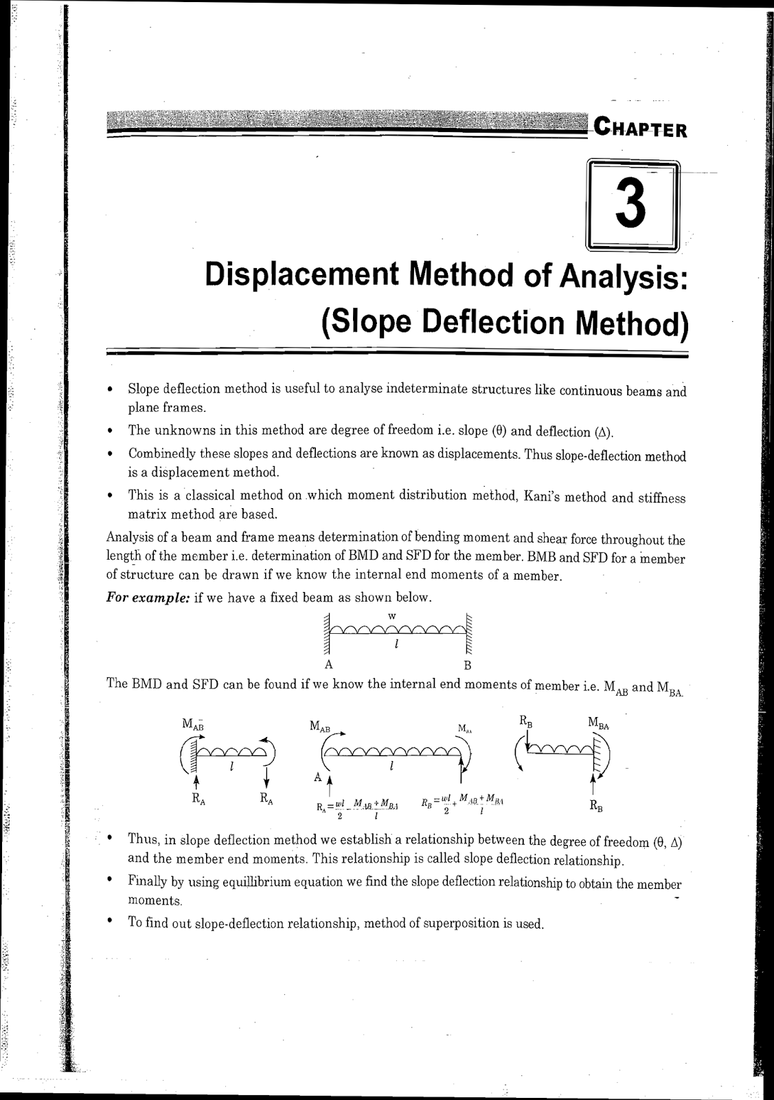 Beam Deflection Equations Talkchannels Download Link : Ies Master  Structural Analysis Study Material For Gate Psu