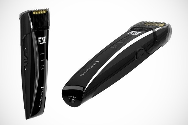 Remington touch control beard and stubble trimmers
