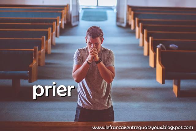 religion prier vocabulaire