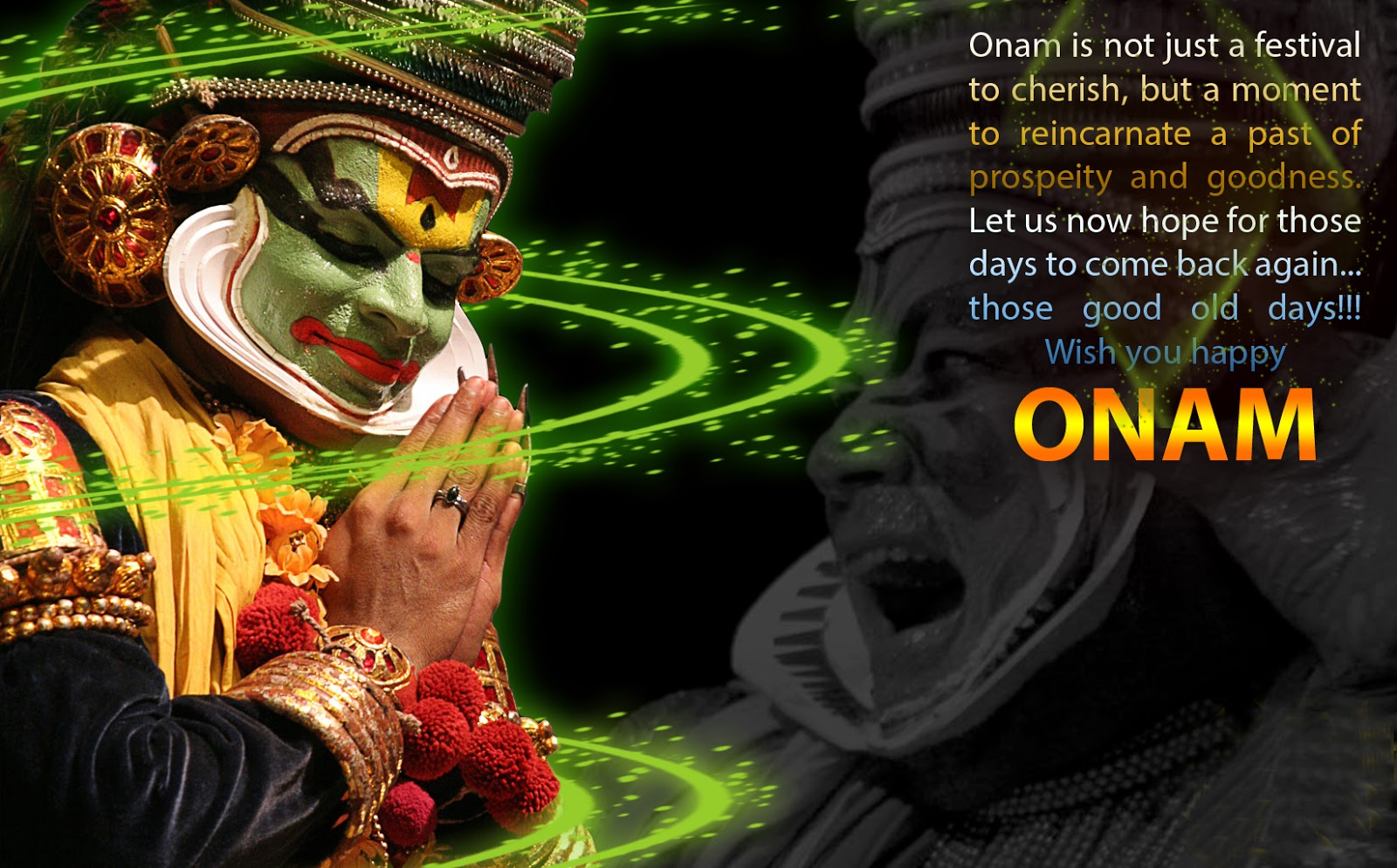 Enjoy Onam Festival with Greetings & Wishes Cards