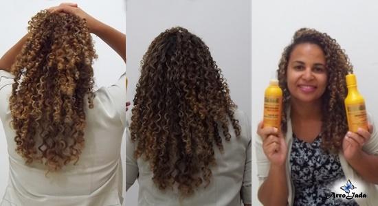 Kit Cachos Estilosos G Hair Cosméticos