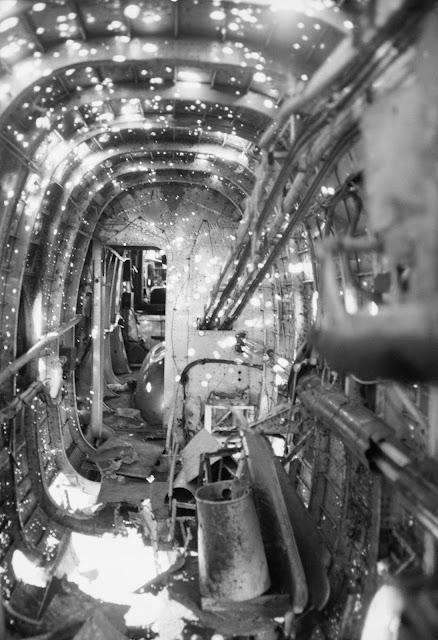 Handley Page Halifax Mark II bomber planes barely survived battle damage worldwartwo.filminspector.com