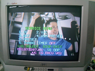 Cara Masuk Service Menu TV JVC AV-21FT