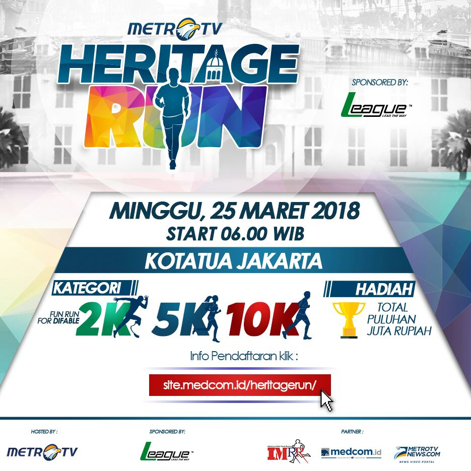 Metro TV Heritage Run • 2018