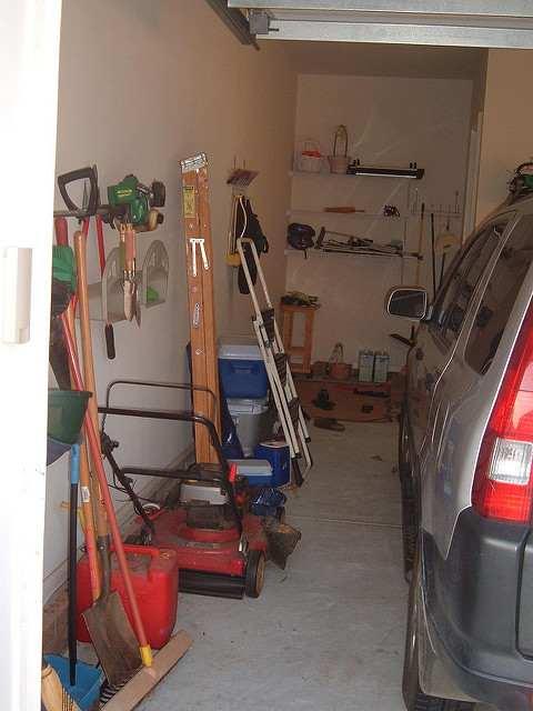 garage lighting layout