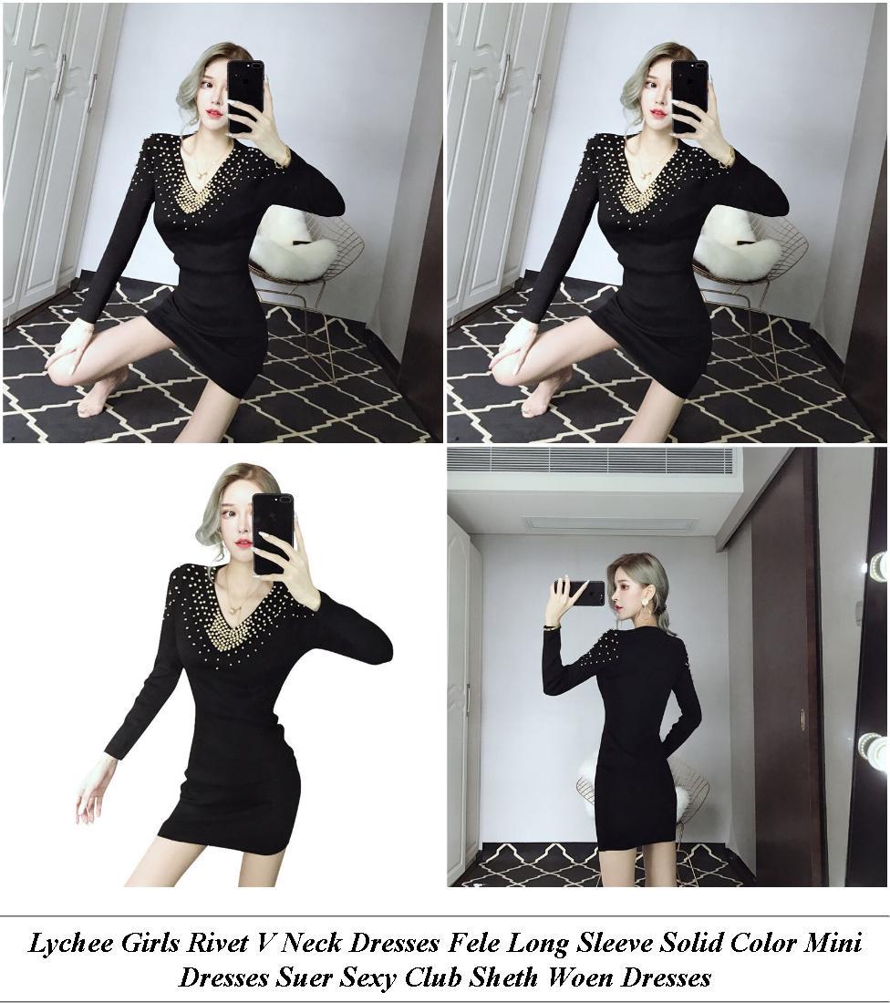 Summer Dresses For Women - Shops For Sale - Denim Dress - Cheap Name Brand Clothes