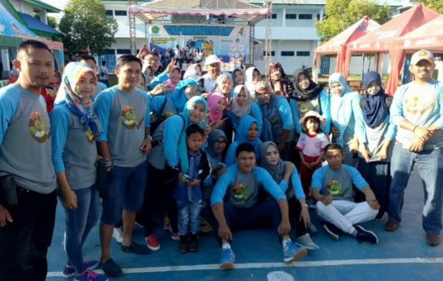 Harla STKIP Muhammadiyah Bone, Ratusan Peserta Ikuti Jalan Santai