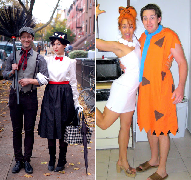 10 diy couples halloween costumes - Ideas For Couples For Halloween