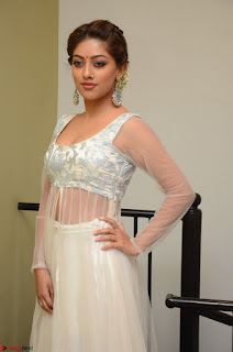 Anu Emmanuel in a Transparent White Choli Cream Ghagra Stunning Pics 109.JPG