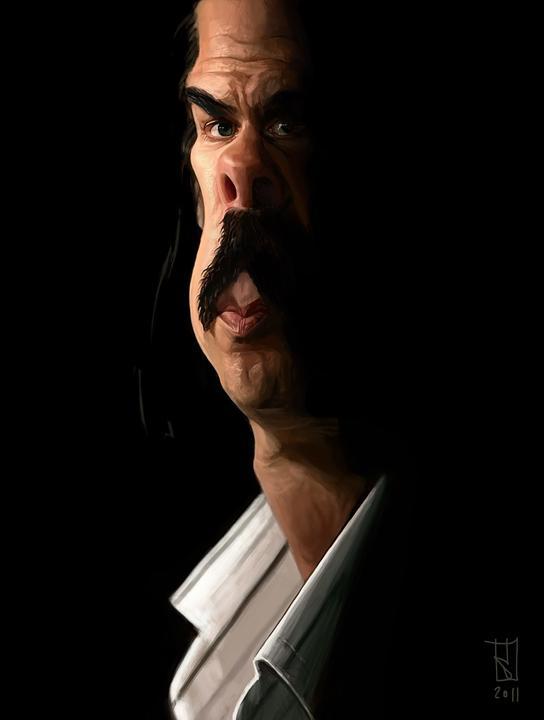 Nick Cave por Alberto Russo