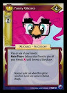 My Little Pony Funny Glasses Canterlot Nights CCG Card