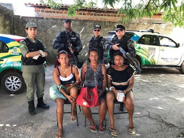 Timonenses são presas por furtos em União