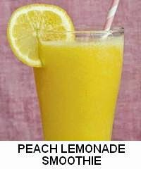 PEACH LEMONADE SMOOTHIE