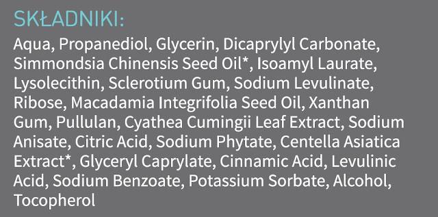 jaki ma sklad serum pod oczy be organic