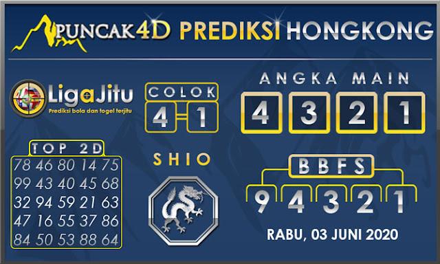 PREDIKSI TOGEL HONGKONG PUNCAK4D 03 JUNI 2020