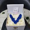 Flower Box White Roses