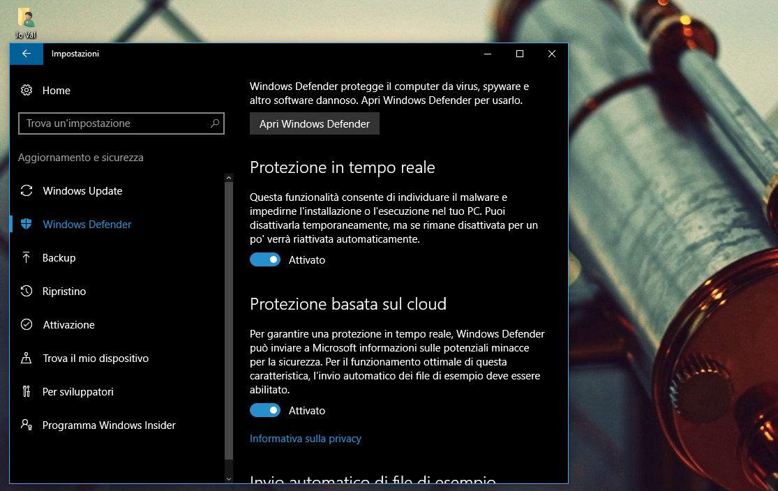 Impostazioni-Aggiornamento-sicurezza-Windows-Defender