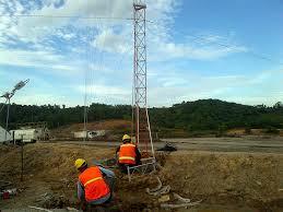 Proses Pemasangan Tower