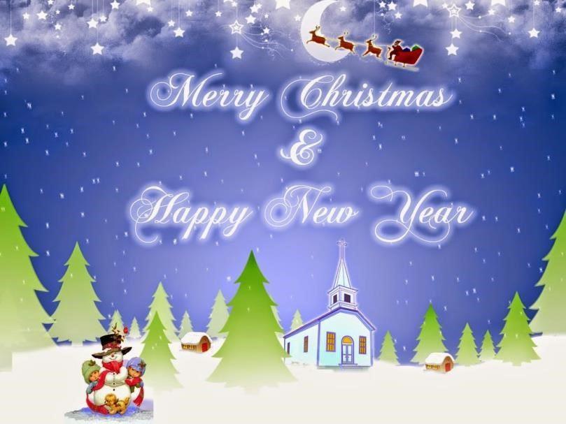 kata kata ucapan selamat natal dan tahun baru