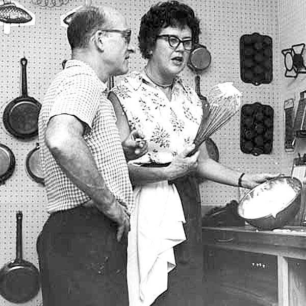 Julia Childs Kitchen: From Grandma's Kitchen Window: I Forgot