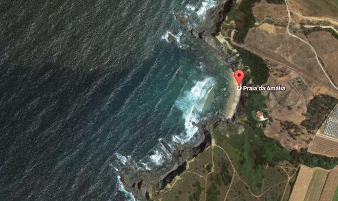 praia da amalia mapa Praia da Amália   ESCS   OPEN SOURCE LOCATION SCOUTING praia da amalia mapa