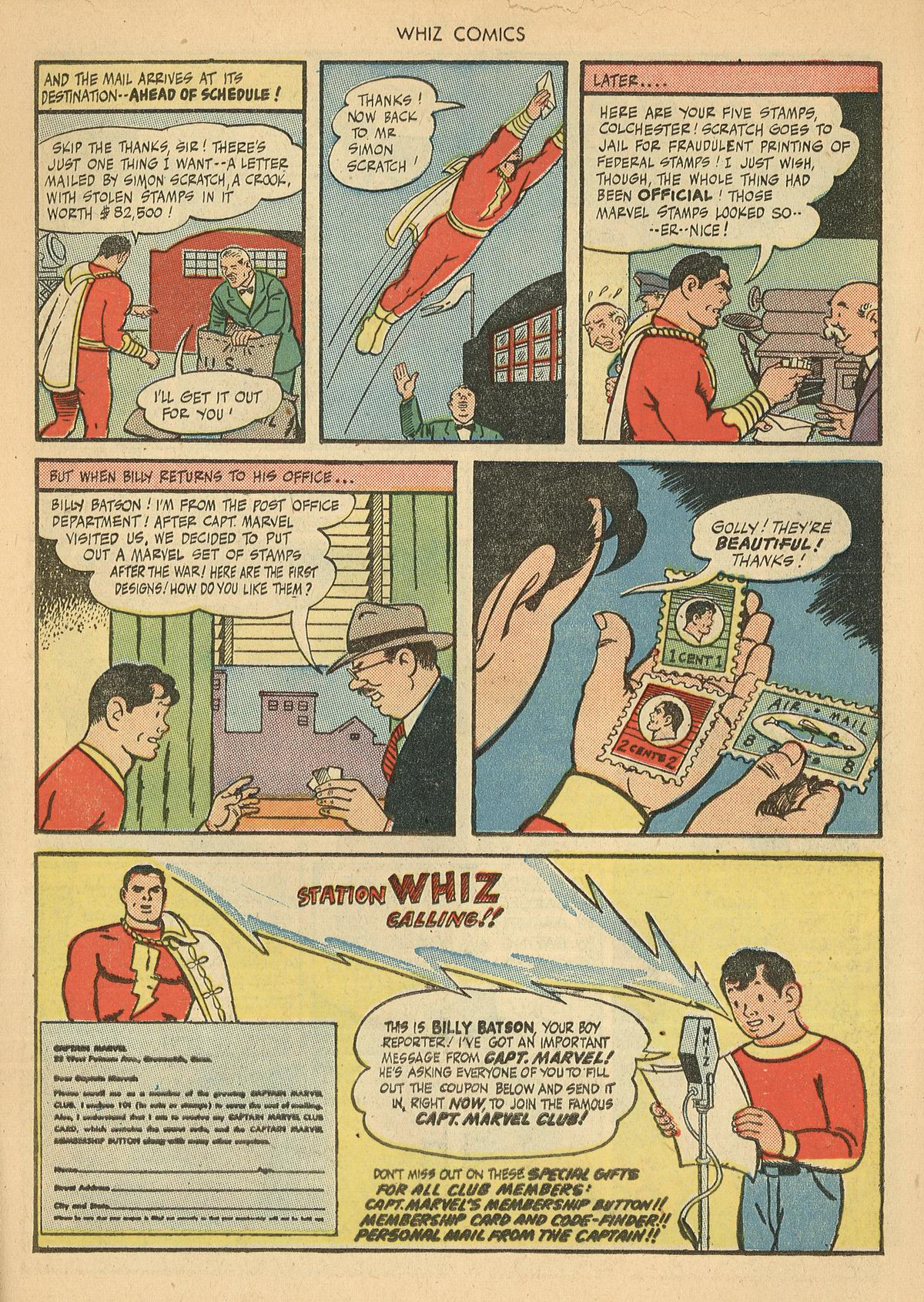 WHIZ Comics issue 67 - Page 11