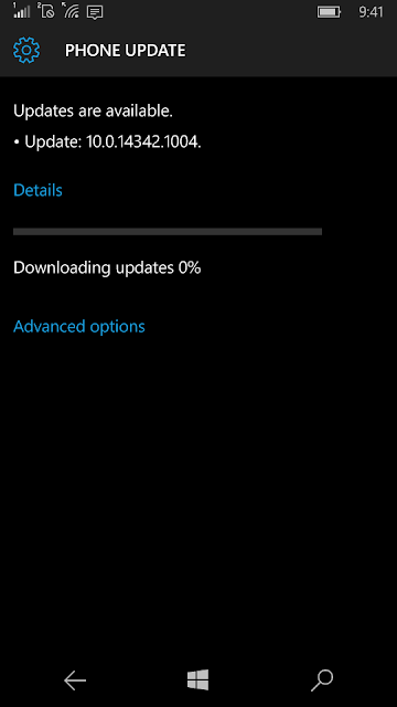 windows 10 mobile update 31 mei 2016