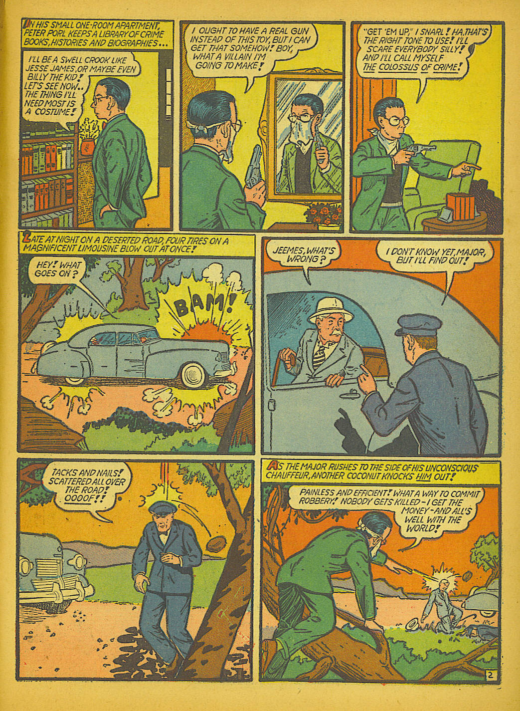 Read online Action Comics (1938) comic -  Issue #51 - 60