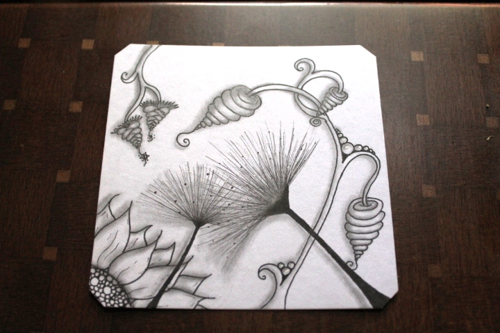 B'Dylan zentangle