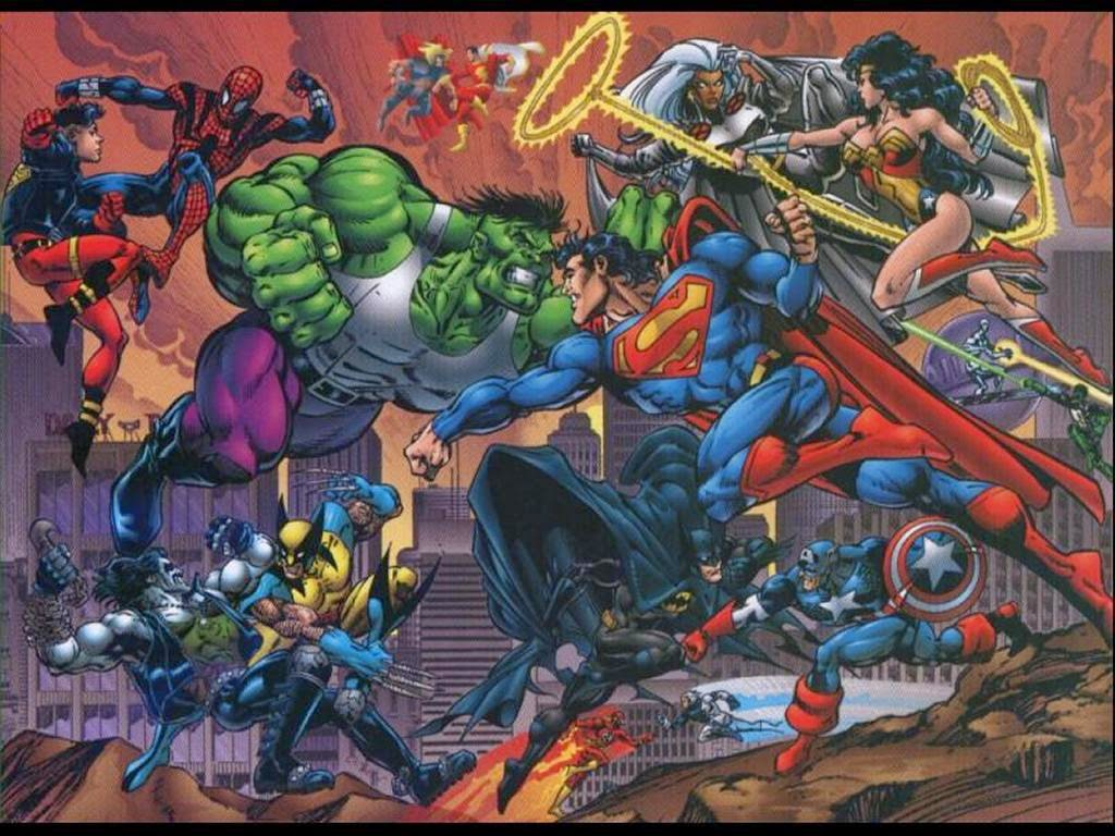 Mavel vs DC vs Marvel vs DC