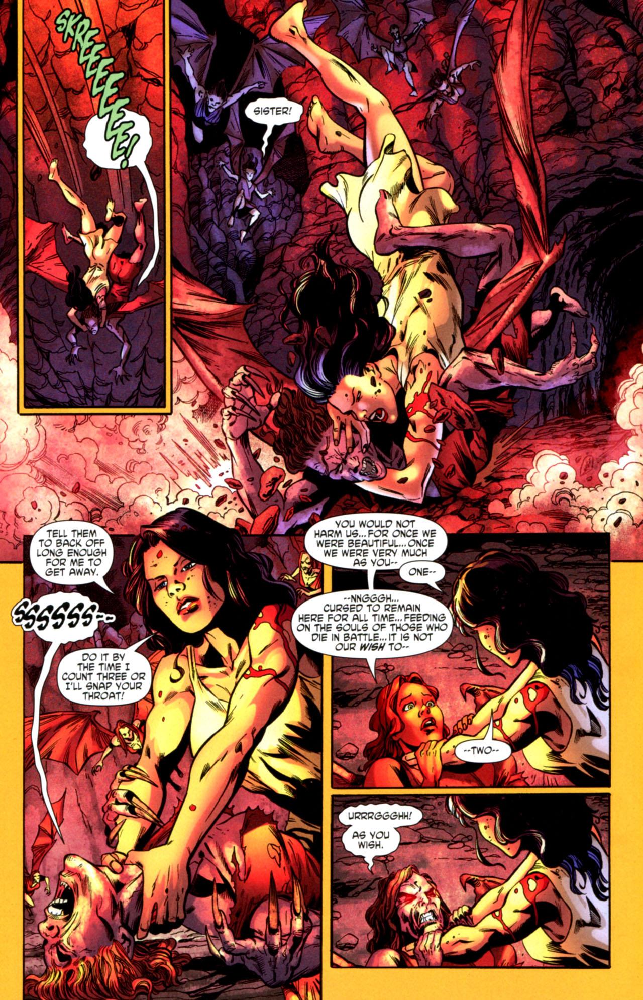 Read online Wonder Woman (2006) comic -  Issue #603 - 15
