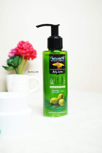 Lotion Minyak zaitun Dari Herborist Indonesia