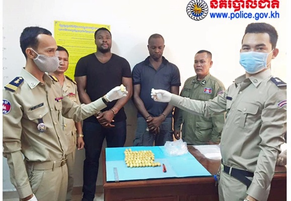 nigerian drug dealer jailed cambodia