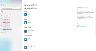 App predefinite