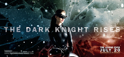 The Dark Knight Rises Theatrical Movie Banner Set 2 - Anne Hathaway as Catwoman